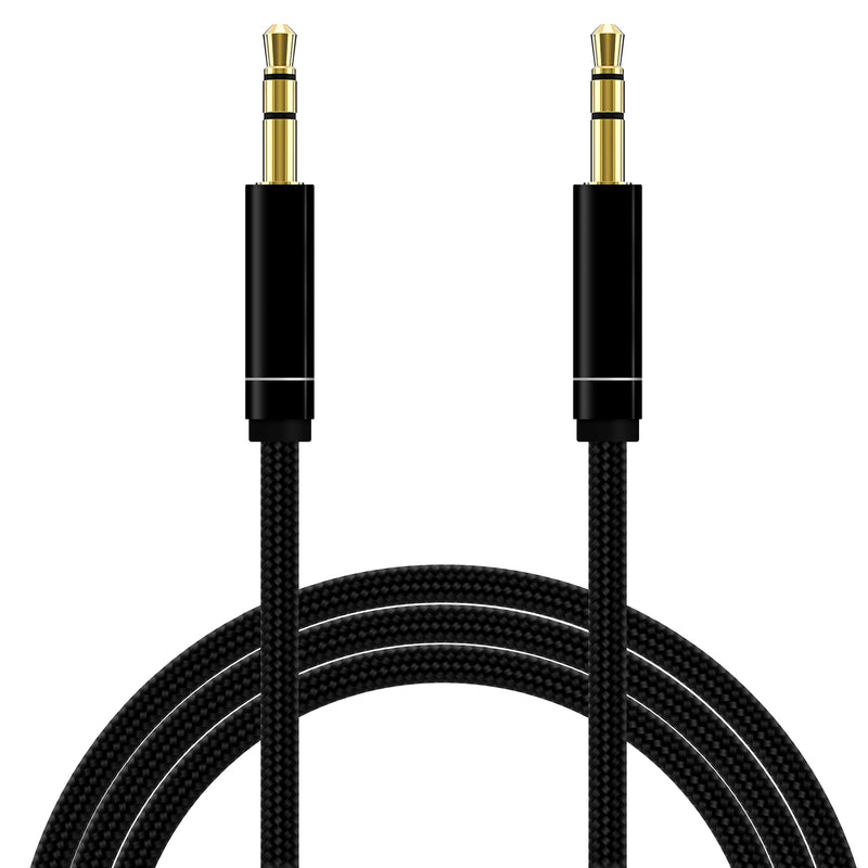 Aux Cable Audio Lead 3.5mm Jack Stereo Male for Car PC Phone MP3 iPod-AUX Cable-TradeNRG UK