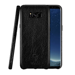 iSOUL Samsung S8 Leather Back Case Black
