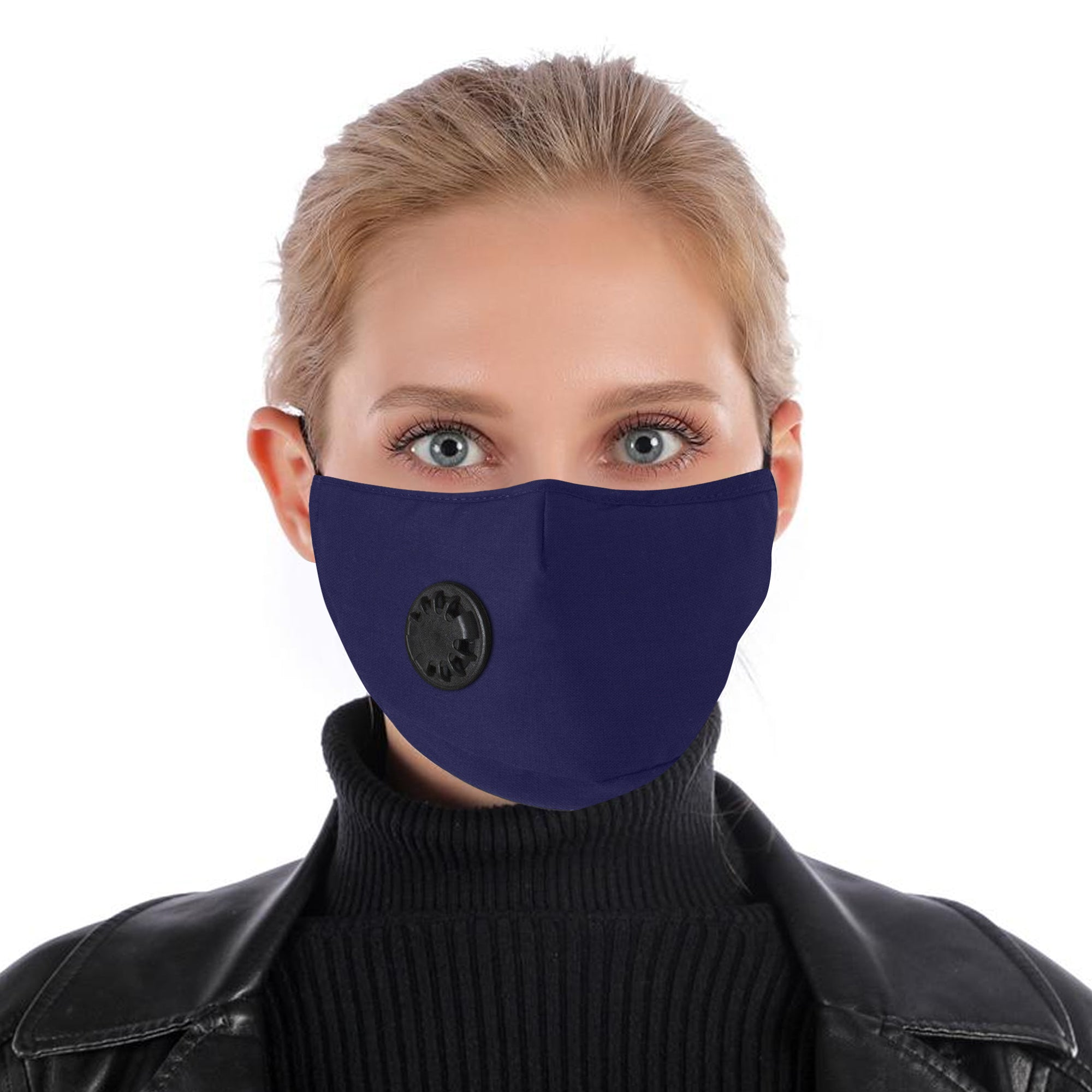 100% Cotton Face Mask Breathable Valved Protection Washable Reusable Fashion Cover Unisex by  TradeNRG