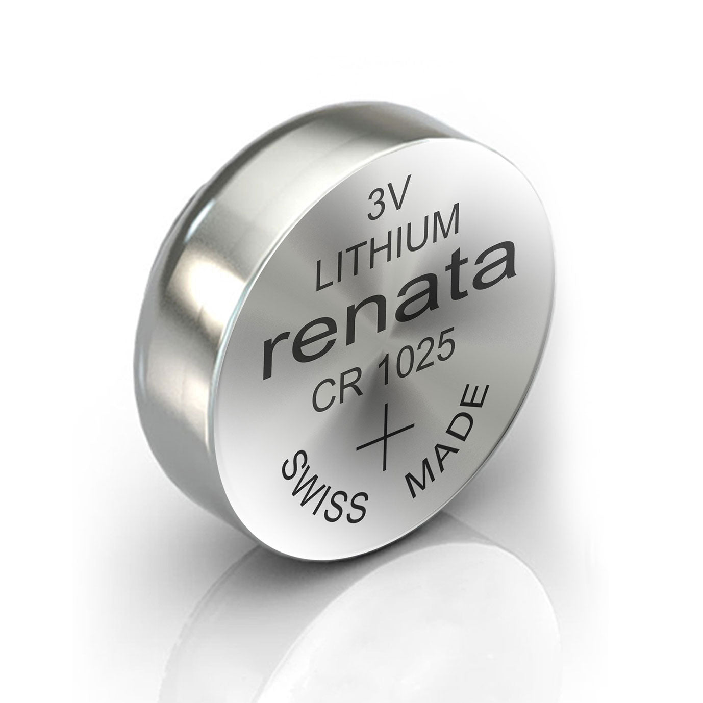 2x Renata CR1025 Watch Battery 3V Swiss Made Lithium Button Coin Cell by  TradeNRG