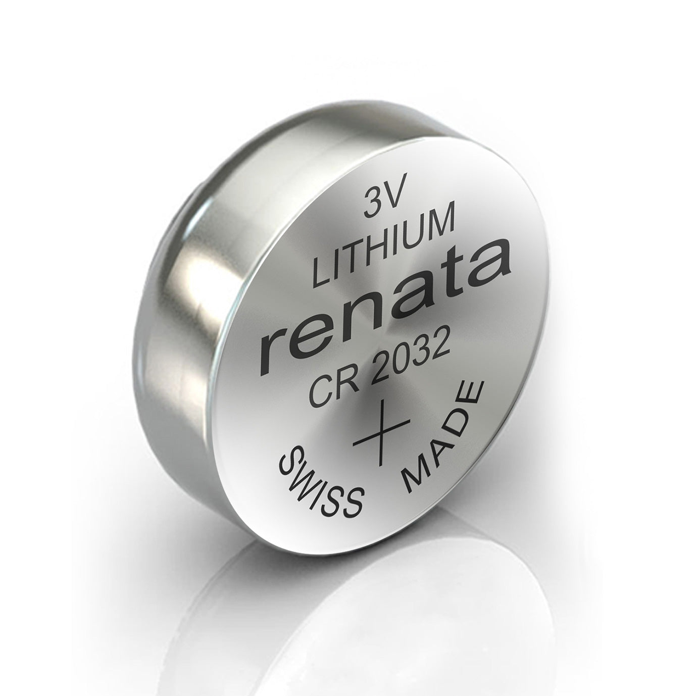 1x Renata CR2032 Watch Battery 3V Swiss Made Lithium Silver Oxide, Electronics by TradeNRG