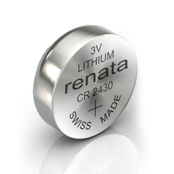 10x Renata CR2430 watch Battery Swiss Made Coin Lithium Silver Oxide 3V-Battery-TradeNRG UK