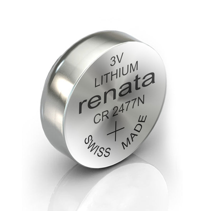 10x CR2477N 3V Renata Watch batteries Swiss Made Silver Oxide Battery