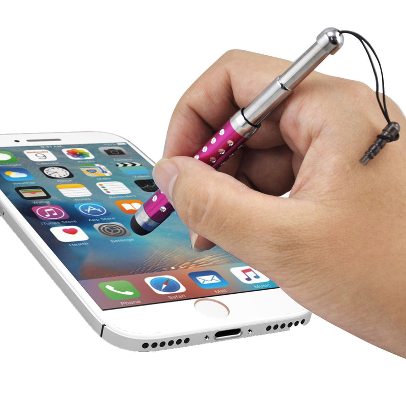 Crystal Retractable Stylus For iPhone 8