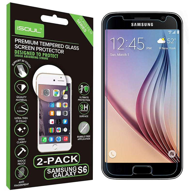 Premium Screen Protector For Samsung Galaxy S6
