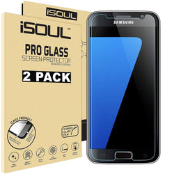 iSOUL Samsung Galaxy S7 Screen Protector Anti-Shatter 9H Clear Vision-Screen Protector-TradeNRG UK