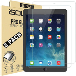 "2x iSoul Screen Protector for iPad Air 1 iPad Air 2 iPad Air Pro 9.7""-Screen Protector-TradeNRG UK"
