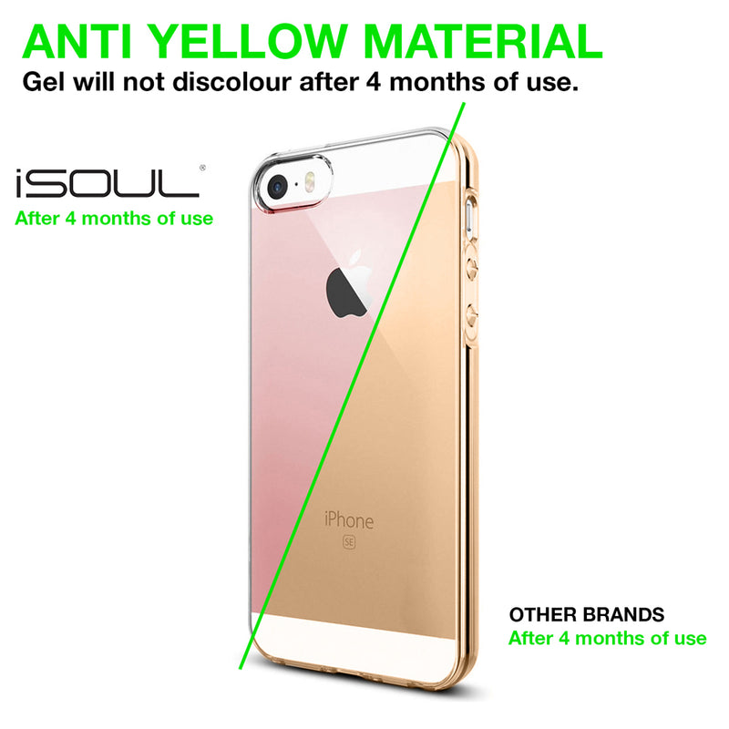 One iPhone 7 PLUS Transparent Gel Case Cover
