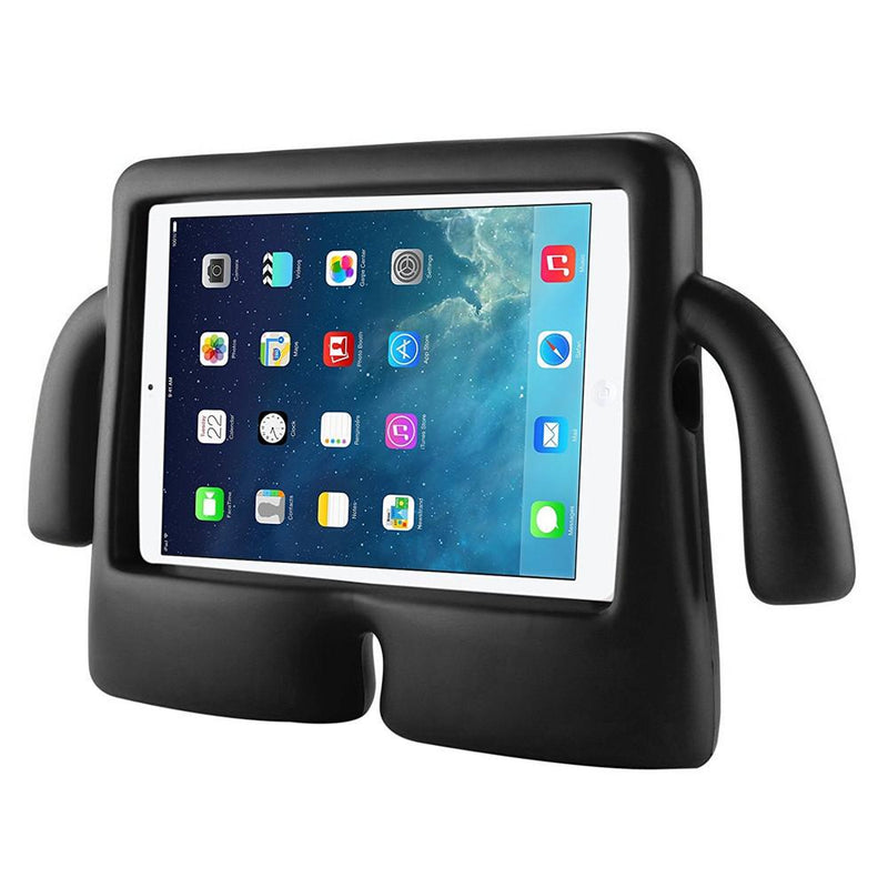 Children's iPad's Case lightweight Stand & Handle for iPad 2 3 4 -Black Side view