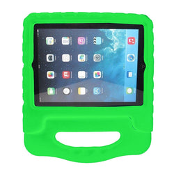 iPad 2 Case For Kids Children Shockproof Foam Handle Stand Case Cover For iPad - Green