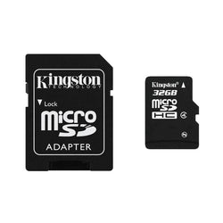 Kingston 32Gb Micro Sd Sdhc Memory Card For Nintendo 2Ds, 3Ds , 3Ds Xl, Wii