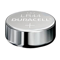 Duracell LR44 Multi Drain 1.5V Zero Mercury Alkaline Watch Batteries
