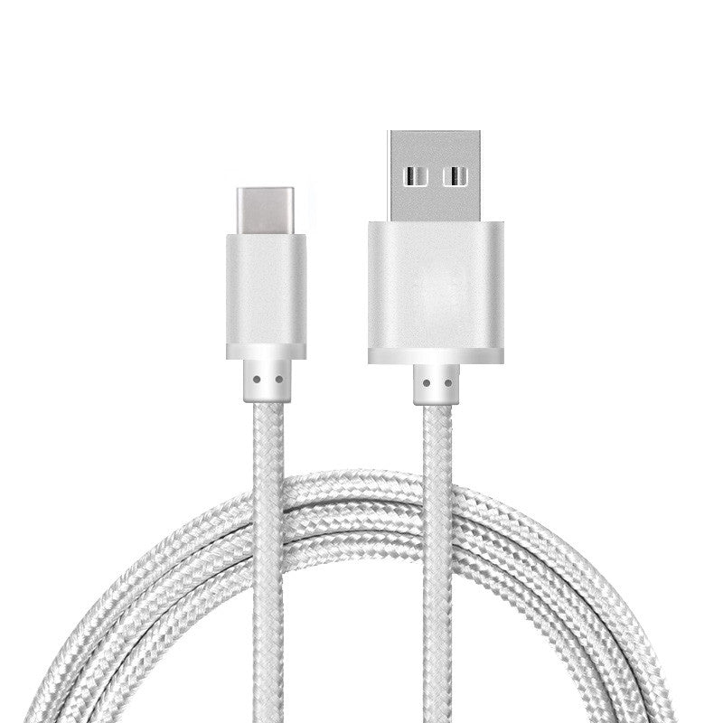 USB-C USB 3.0 TYPE-C DATA SYNC CHARGER CHARGING CABLE HEAVY DUTY BRAIDED - USB CABLE - ISOUL	 - 9
