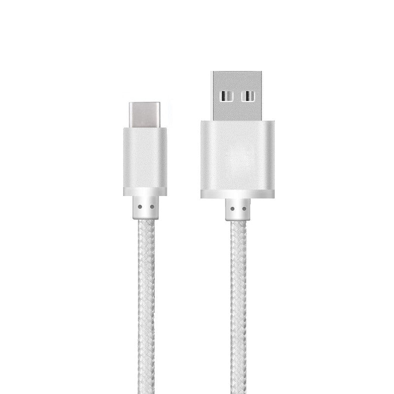 Heavy Duty Braided USB Type C 3.0 Data Sync Charger Charging Cable-USB Type C Cable-TradeNRG UK