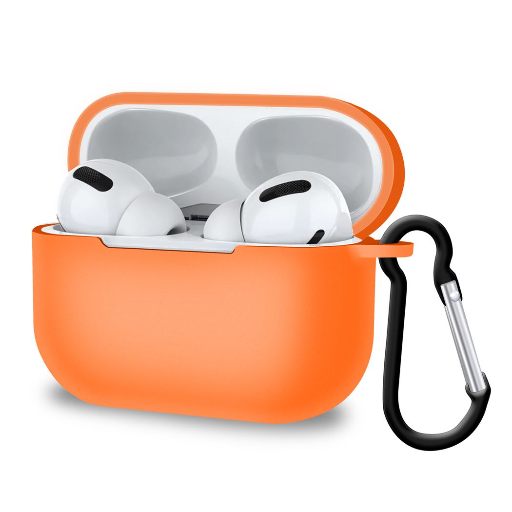 Airpods Pro Case Anti-Dust with Carabiner & Wireless Charging Cover, Headphone & Headset Accessories by TradeNRG