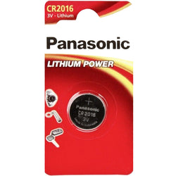 Panasonic CR2016 Lithium Coin Batteries Pack of 2 Batteries - TradeNRG UK
