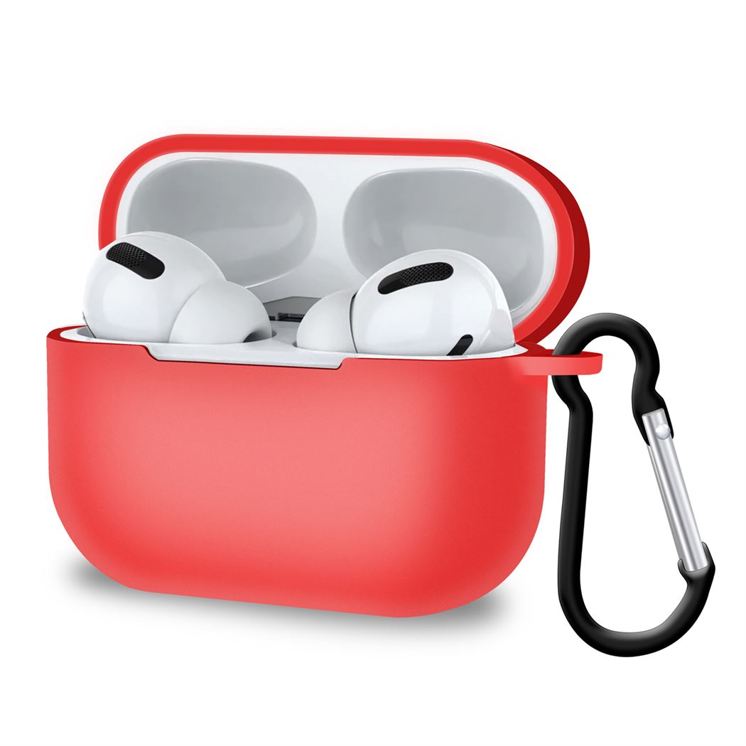 AirPods Pro Case 3rd gen 2019 with Key chain Hook Wireless Charging, Audio by TradeNRG