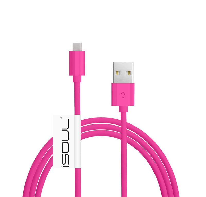USB C 3.1 Type-C Data Sync Charger Charging Cable USB-C to USB 3.0 Cable (C to A) 24AWG 56k Ohm Pull-up Resistor, for Galaxy Note 7, the new MacBook, ChromeBook Pixel, Nexus 5X 6P OnePlus 2 /3 Charger Cable Devices - USB CABLE - ISOUL	 - 19