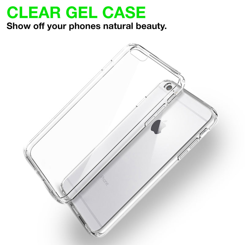 Shockproof Silicon Gel Case Transparent case