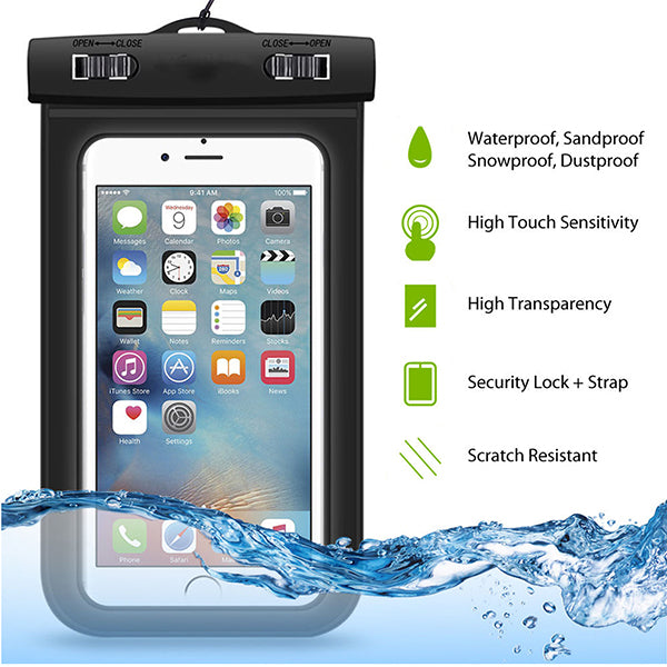 "Underwater Case Suitable for 5.5"" Screen"