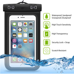 Smartphone Waterproof Case Black