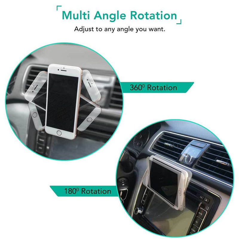 Multi Angled car air vent mobile phone holder - iSOUL