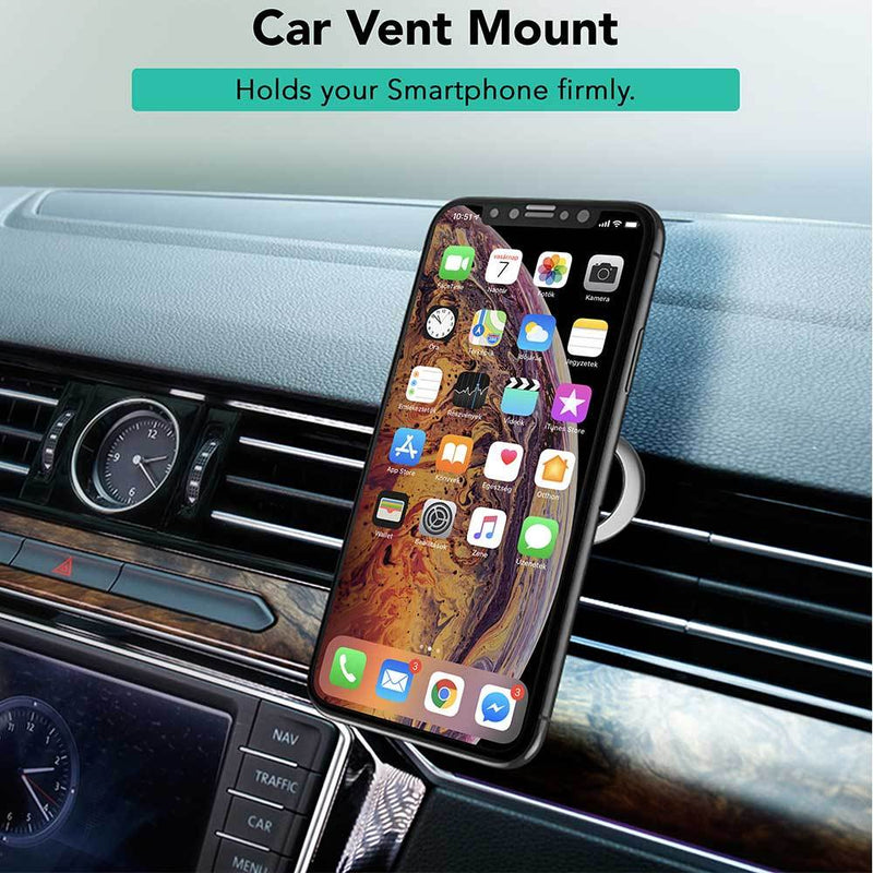 360° Rotate 3 in 1 Car Vent Phone Ring Holder - iSOUL