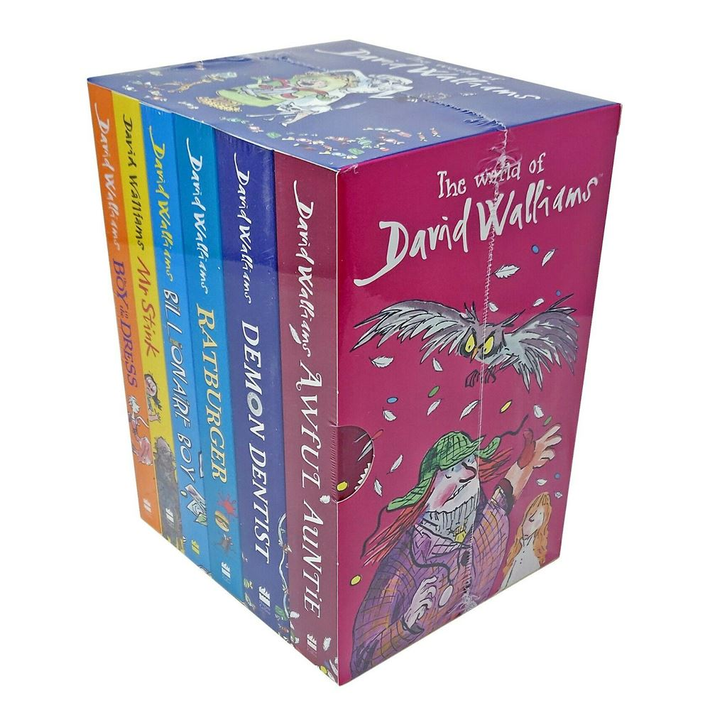 The World of David Walliams 6 Books Collection Set - Age 9-14 by  TradeNRG