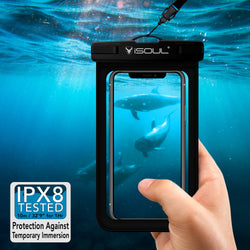 iSoul smartphone Underwater Case 360 Cover Waterproof Case Dry Bag Pouch-Case / Cover-TradeNRG UK