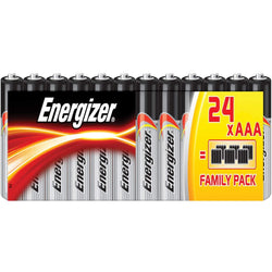 24 Pack AAA Energizer Battery - Alkaline Power 2028-Batteries-TradeNRG UK