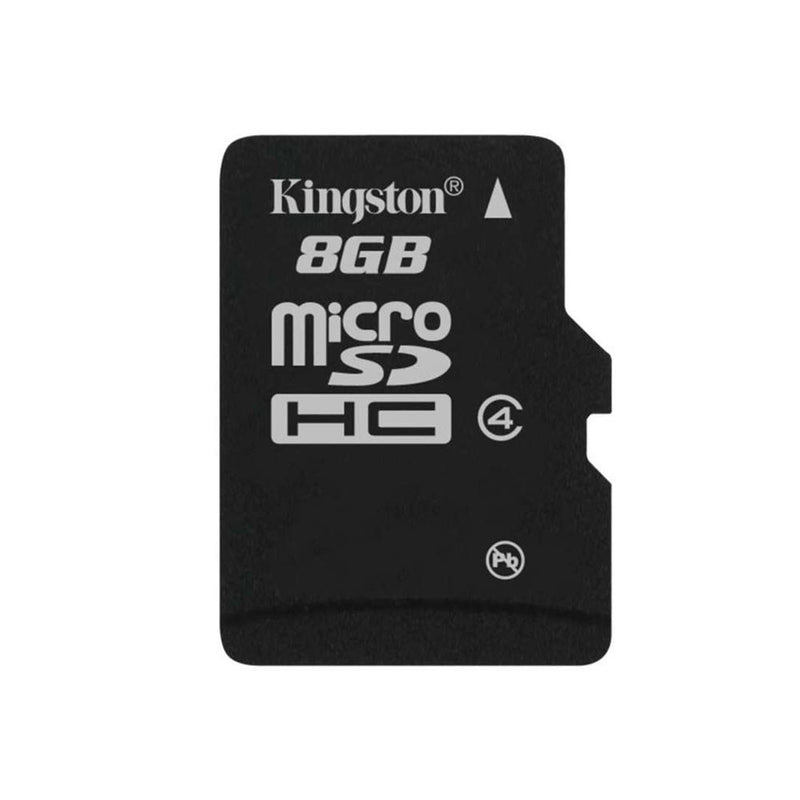 UK_KNG 8GB+AD Kingston 8GB Class 4 Micro SD Card with SD Adapter