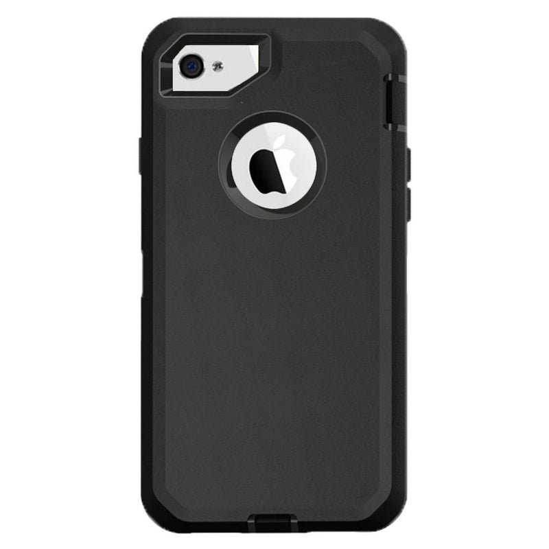 best sneakers abd91 bc0ab Case For Apple Iphone 4/4S, Heavy Duty Military Grade Armor Protective  Case, Anti Shock Defender Cover Shell For Apple Iphone 4/4S - Black