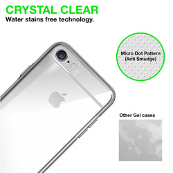 Iphone 7 Silicon Gel Case Cover - Transparent