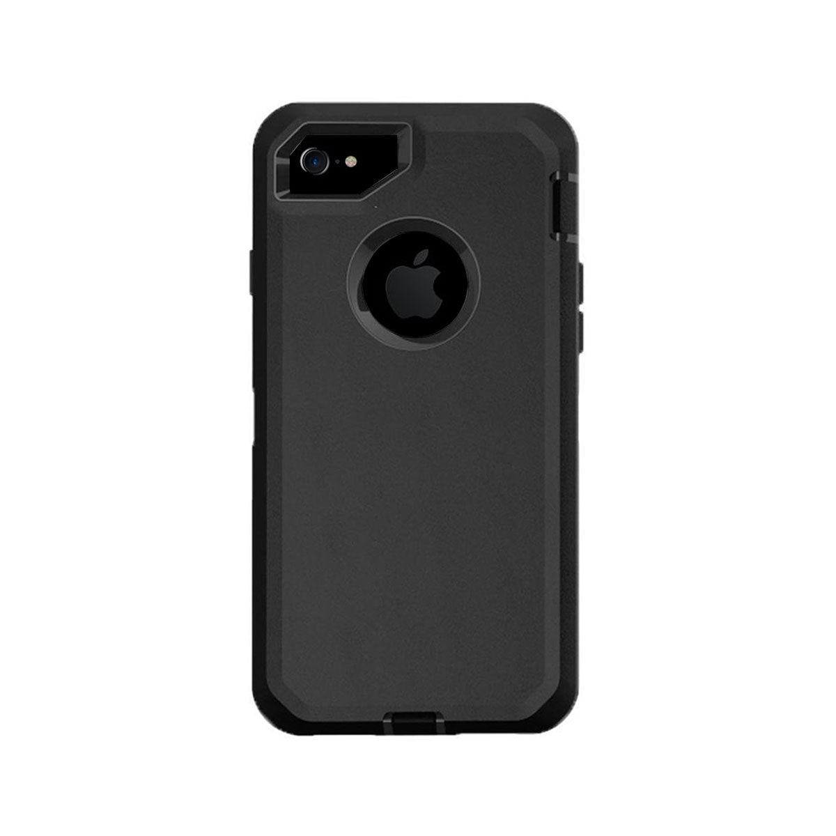 a89b919896 Case For Apple Iphone 7 Plus, Heavy Duty Military Grade Armor Protective  Case, Anti Shock Defender Cover Shell For Apple Iphone 7 Plus - Black