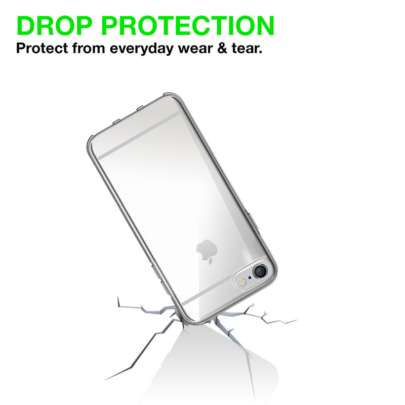 Iphone 6/6s plus Silicon Gel case  cover - Transparent
