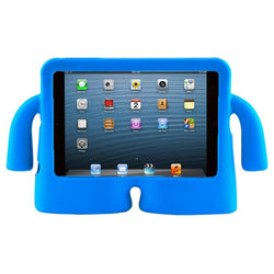 Children's iPad's Case lightweight Stand & Handle for iPad Mini 2 3 4 -Blue