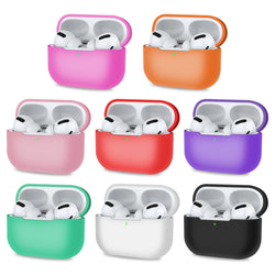 Protective Case for Airpods Pro with Front LED Visible - Multicolored-Airpods Case-TradeNRG UK