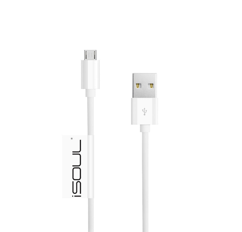24AWG Micro USB Charger Cable 2.4Amp Fast Sync Charging Lead USB 2.0 A Male to M - USB CABLE - ISOUL	 - 20
