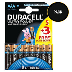 Duracell Ultra Power AAA Batteries pack