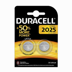 2x Duracell CR2025 Battery