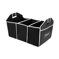 Buy Latest High Quality 2 in 1 Car Boot Storage Organiser - Black Color-Car Boot Organisers-TradeNRG UK