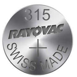 Rayovac 315 Sr716Sw Swiss Watch Cell Battery Silver Oxide 1.55V New X 1,2,5,6,8,10