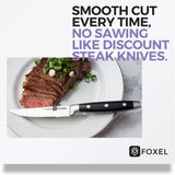 STYLISH Steak Knife Set - FOXEL