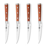Sandalwood Straight Edge Steak Knife Set