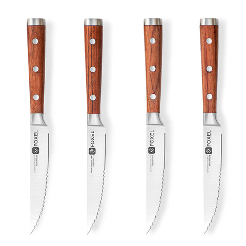 CLASSIC Rosewood Steak Knife Set