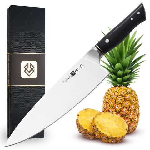 LYNX Series 9 Inch Chef Knife Black