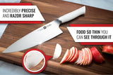 LYNX Series 9 Inch Chef Knife White
