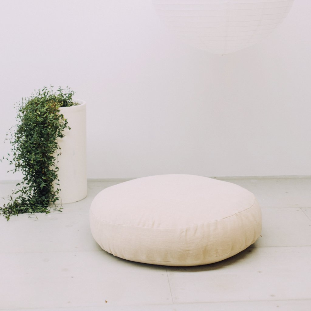 FLOOR CUSHION - Linen