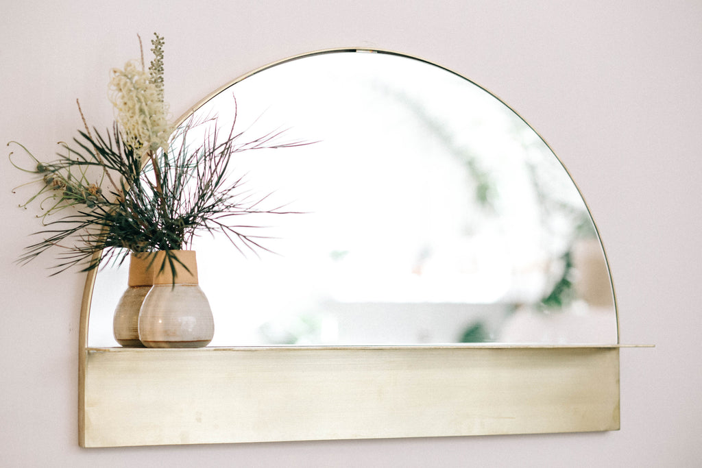 P&S HALF MOON MIRROR