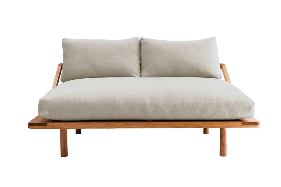 THE L-DREAMER COUCH - TASMANIAN BLACKWOOD
